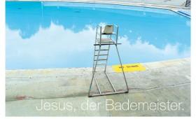 Der Bademeister. Matthäus 3,13