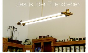 Der Pillendreher. Johannes 9,6