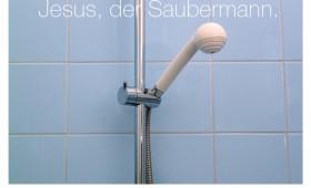 Der Saubermann. Johannes 13,4-5