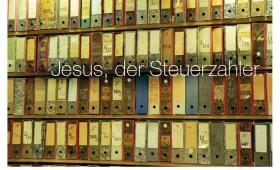 Der Steuerzahler. Matthäus 17,25-27