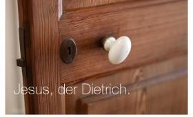 Der Dietrich. Johannes 20,19