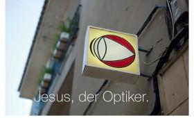 Der Optiker. Markus 8,22-26, Matthäus 15,14