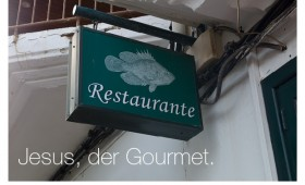 Der Gourmet. Lukas 5,4-7